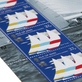 Paul Smith - London 2012 Olympic Games - The Isle Of Man Stamp Collection By Paul Smith - rfsr-paul-qa66-1