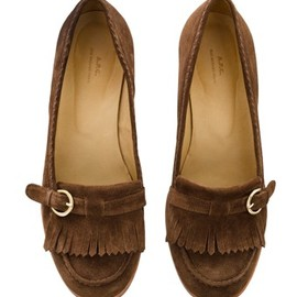 A.P.C. - High-heeled  moccasins