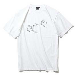 Yu Nagaba×GOODHOOD×BEAMS T - Short-Sleeve T-shirts(ショートスリーブT)のYu Nagaba×GOODHOOD×BEAMS T / Adam Tシャツ(Tシャツ/カットソー)|ホワイト