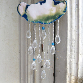 What A Novel Idea - Crystal Raindrop Spring Showers