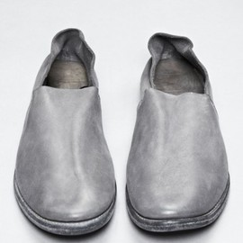 GUIDI - Cordovan Leather  Slipper
