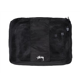 STUSSY - Diamond Ripstop Packing Cubes - Black