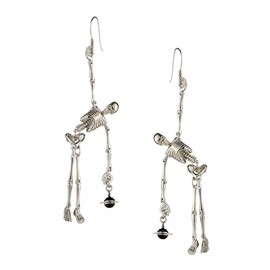 Vivienne Westwood - Skelton Earrings Silver