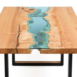 elm river console table