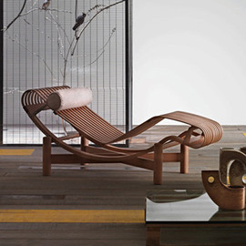 Charlotte Perriand - Original Lounge Chair, Bamboo