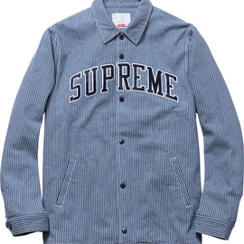 Supreme - Denim Coaches Jacket