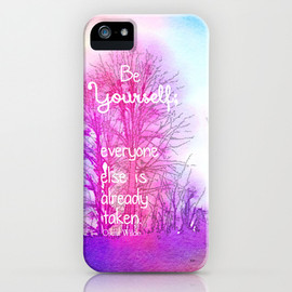 Society6 - Be Yourself iPhone & iPod Case
