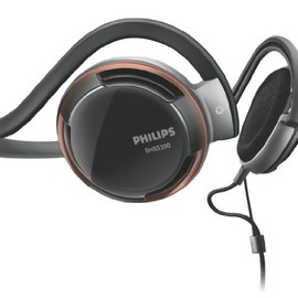 Philips - Philips Rich Bass Neckband Headphones SHS5200/28 (Replaces SHS5200)