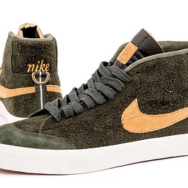 NIKE SB - Blazer Mid SB QS - Sequoia/Flight Gold