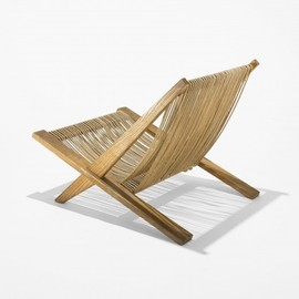 POUL KJAERHOLM AND JORGEN HOJ - Snedkerier lounge chair