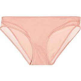Calvin Klein Underwear - Naked Touch tulle-trimmed stretch-satin briefs