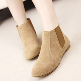 Roman Style Simple Patch Women's Bootie