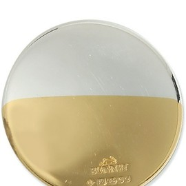 BUNNEY - 34MM GOLD-DIP BADGE 925 SILVER/GOLD