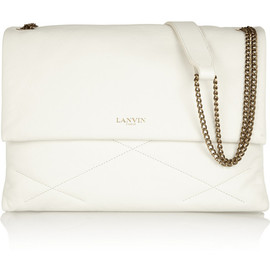 LANVIN - Sugar medium quilted leather shoulder bag
