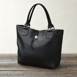 melple - BEYES別注 HOMERUN LEATHER TOTE BAG