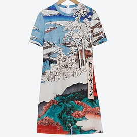 Carven - SS2015 Printed fleece dress