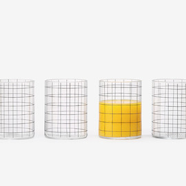 kate spade saturday - grid print glass