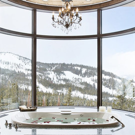 bathroom/nice view