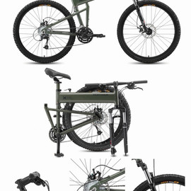 MONTAGUE - Paratorooper Folding Mountain Bike