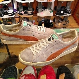 "PUMA - 「<used>70-80's PUMA PUMA(SUEDE) natural/orange""made in YUGOSLAVIA"" size:UK6/h 12800yen」完売"