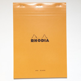 RHODIA - A4 Blank Notebook