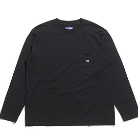THE NORTH FACE PURPLE LABEL - 7oz L/S Pocket Tee-K