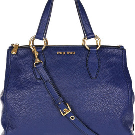 miu miu - Miu Miu Textured leather tote