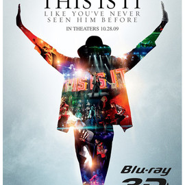 Kenny Ortega, Michael Jackson - MICHAEL JACKSON'S THIS IS IT 3D BLU-RAY DISC