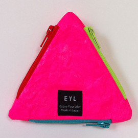EYL - EYL UROKO COIN CASE Tyvec Hot Pink