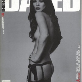 Dazed & Confused Feb 1999 Kate Moss by Rankin