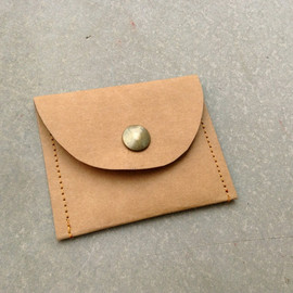 Belltastudio - Kraft fabric paper coin purse