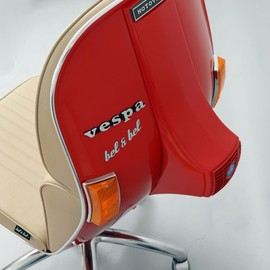 Vespa Chair (made by Vespa's parts)