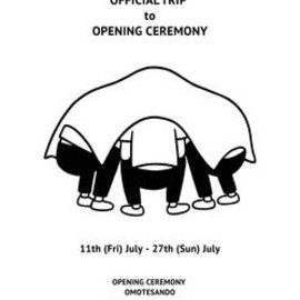 Noritake - M.I.U. OFFICIAL TRIP to OPENING CEREMONY(poster)