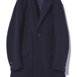 marka - CHESTER FIELD COAT MELTON MOSSER