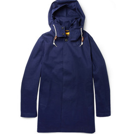 Mackintosh - Dunoon Handmade Hooded Bonded-Cotton Rain Coat