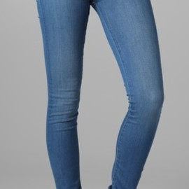 Mother - High Waisted Looker Skinny Jeans