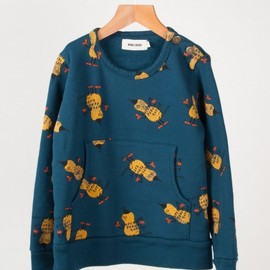 BOBO CHOSES - Superpeanuts Pocket Sweatshirt