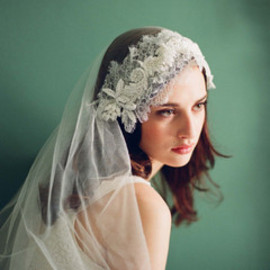 lace head wrap veil