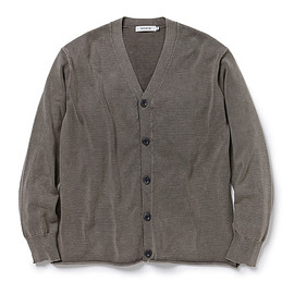 nonnative - HUNTER CARDIGAN COTTON YARN VW