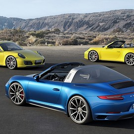 Porsche - 911 Carrera 4S, 911 Targa 4S and 911 Carrera 4S Cabriolet