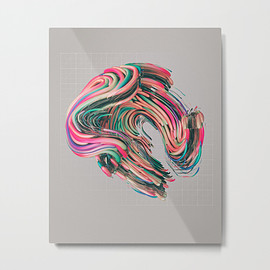 Beeple - VIVE.02 (everyday 09.01.16) Metal Print