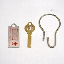 CANDY DESIGN & WORKS - Blood Type Key Plate