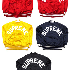 Supreme - Champion SatinJacket
