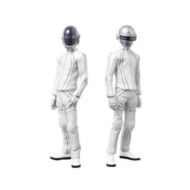 MEDICOM TOY - REAL ACTION HEROES DAFT PUNK No.526 GUY-MANUEL de HOMEM-CHRISTO & No.527 THOMAS BANGALTER TRON REGACY ver 2体セット