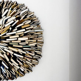 Federico Uribe  - Book Wall Sculpture