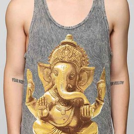 urban outfitters - Golden Ganesh Tank Top