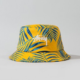 STUSSY - PALM BUCKET HAT