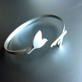 hair & beard ring - handmade silver ring