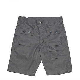 SASSAFRAS - G.D.U. Pants 1/2-TC/Gabardine-Heather Gray