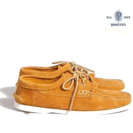 yuketen - boat shoe orange YUKETEN BOAT SHOE ORANGE | SUPERDENIM 50% SALE + FREE WORLDWIDE SHIPPING